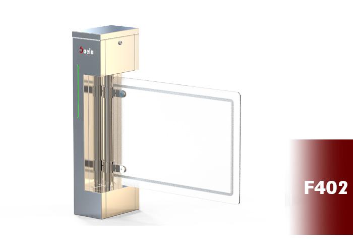 گیت کنترل تردد شیشه ای فلپ صائلا F402