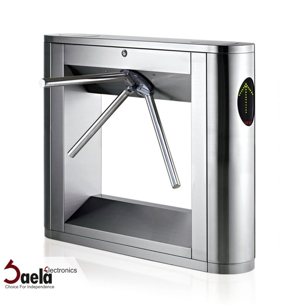 Turnstile gate for corporate security