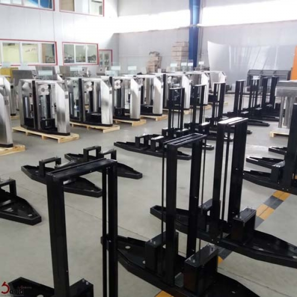 We have started a new project of S301 turnstile gate
